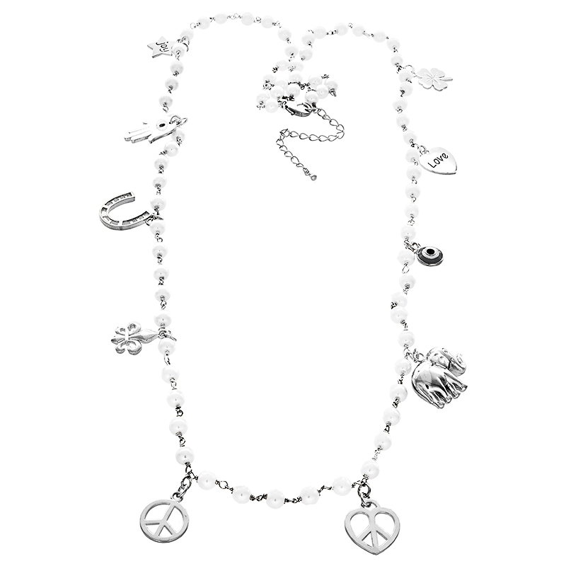 PCN10- Pearl with Charms
